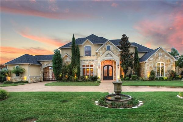 EXTRAORDINARY EXECUTIVE STYLE ESTATE HOME IN HEATH | Texas Luxury Homes |  Mansions For Sale | Luxury Portfolio