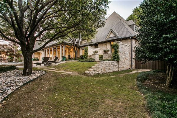 Pristine French Country Estate Texas Luxury Homes