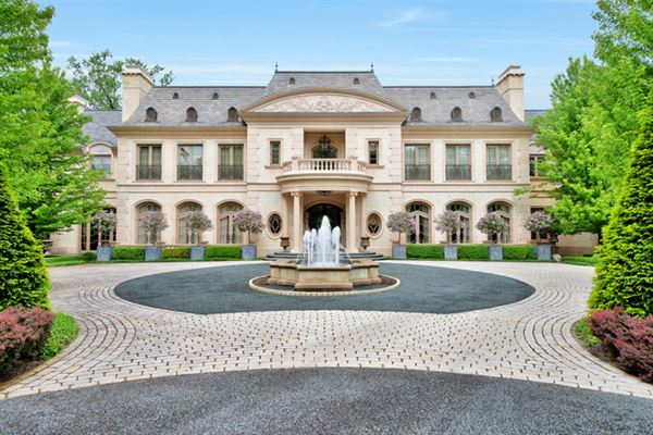 Illinois luxury homes and illinois luxury real estate for Mansion in chicago for sale