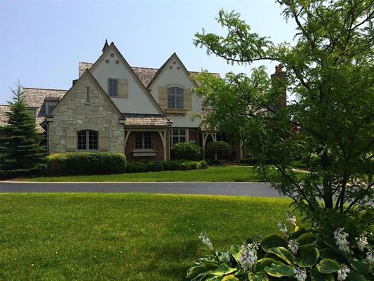 Beautiful french country home in lake forest illinois for French country houses for sale