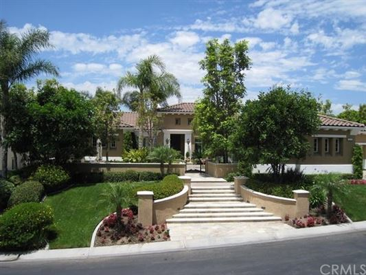 Elegant single story mediterranean home california for Elegant mediterranean homes