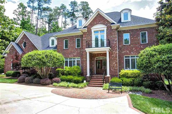 Gorgeous custom built home in cary north carolina luxury for Custom built brick homes