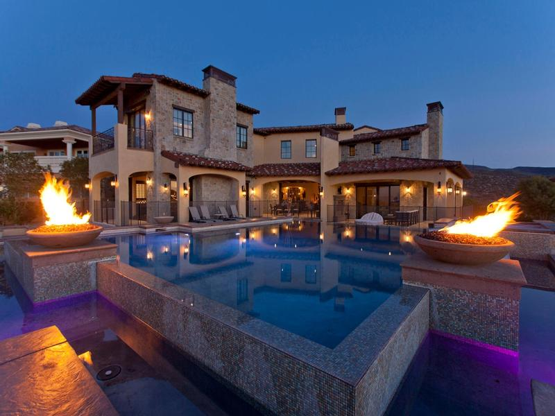 Tahoe Luxury Properties >> CLASSIC MEDITERRANEAN BLENDED WITH MODERN LUXURIES | Nevada Luxury Homes | Mansions For Sale ...