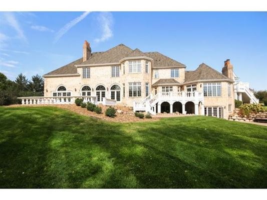 Amazing all brick french country estate minnesota luxury for Luxury french real estate