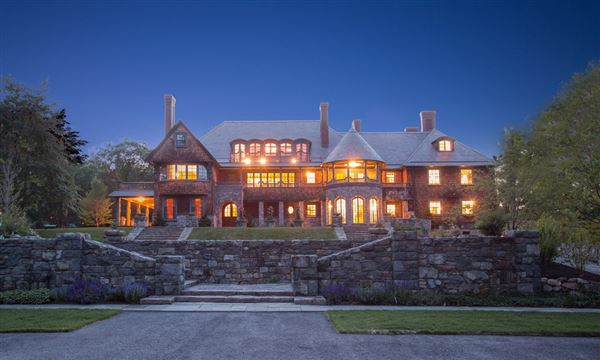 Spectacular Estate In A Park Like Setting Massachusetts Luxury Homes Mansions For Sale