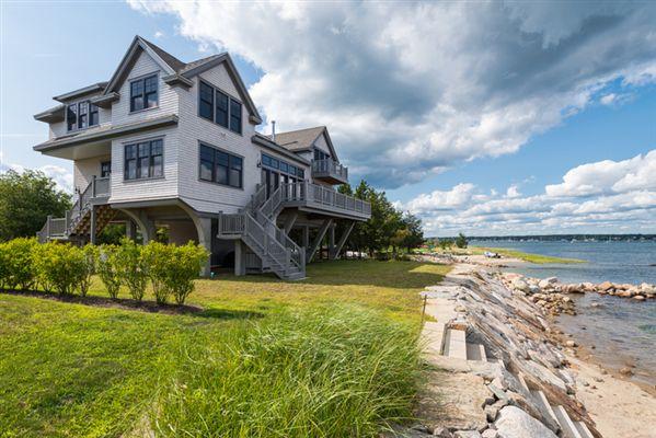Brand New Waterfront Beach House Massachusetts Luxury