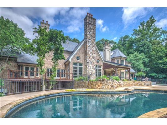 Remarkable European Manor Georgia Luxury Homes