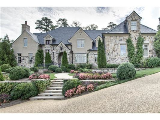 GORGEOUS CUSTOM BUILT ATLANTA HOME Georgia Luxury Homes Mansions