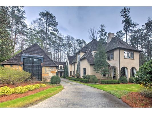 Custom estate home georgia luxury homes mansions for for South georgia custom homes