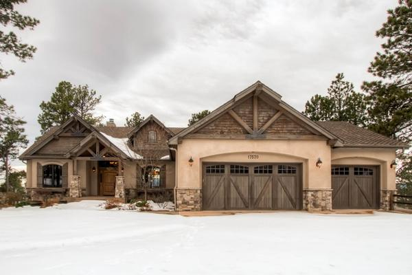 Custom design sited on a spectacular lot colorado luxury for Custom estate home plans