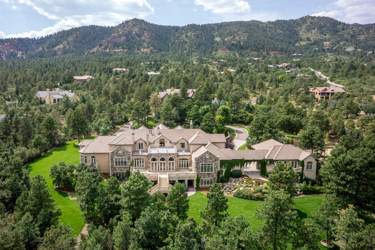 Colorado springs luxury homes and colorado springs luxury for Most expensive homes in colorado