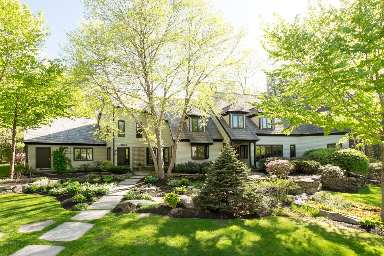 dstinctive design elements highlight stunning home maine luxury homes mansions for sale