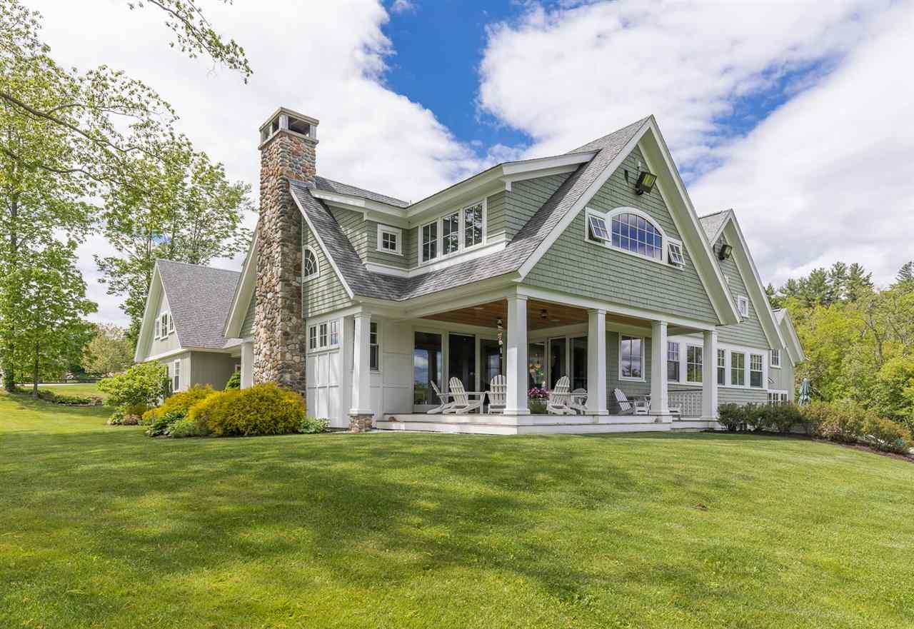 Creekside farmhouse in dover new hampshire luxury homes for Home builders in new hampshire