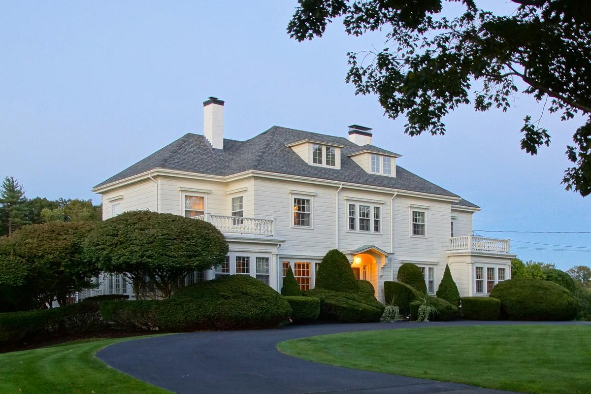 Rare Rye Beach Gem New Hampshire Luxury Homes Mansions