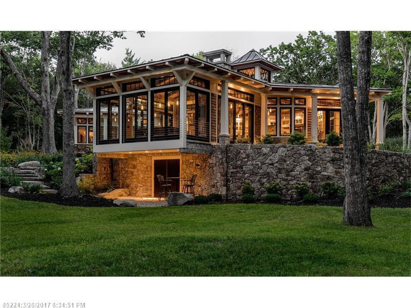 Maine luxury homes and maine luxury real estate property for Luxury home builders usa