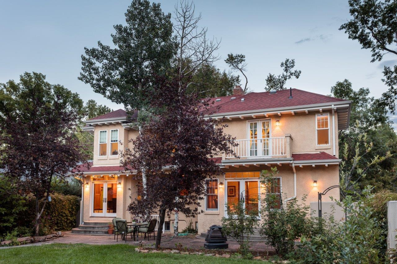 observatory park arts and crafts style home colorado luxury