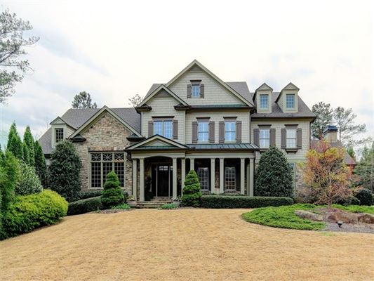 Exquisite Custom Built Home Georgia Luxury Homes