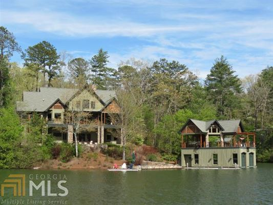 The Laughing Place On Lake Burton Georgia Luxury Homes