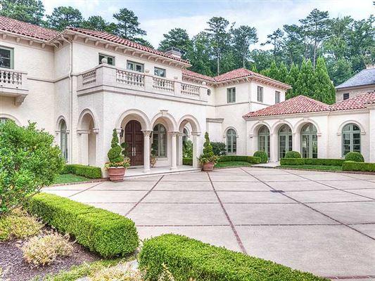 BUCKHEAD ESTATE Georgia Luxury Homes Mansions For Sale Luxury