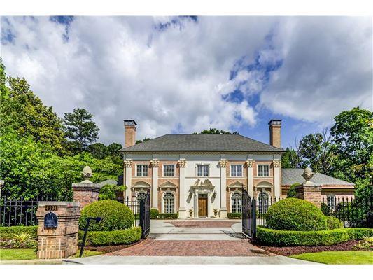GRAND TRADITIONAL HOME IN ATLANTA | Georgia Luxury Homes | Mansions For Sale  | Luxury Portfolio