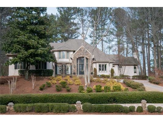 Stunning Alpharetta European Estate Georgia Luxury Homes