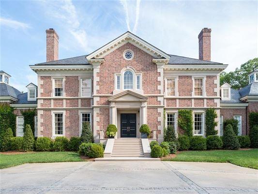 Atlanta luxury homes and atlanta luxury real estate for Luxury house plans atlanta ga