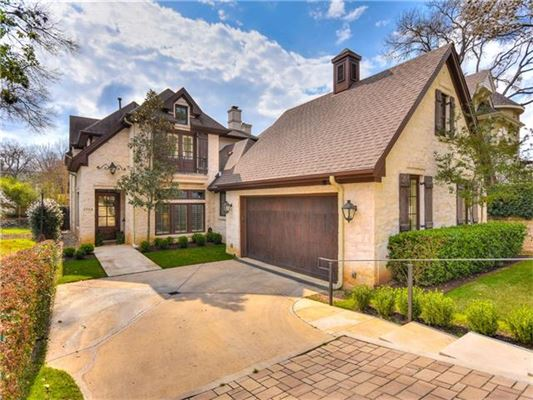 Elegant french country style home texas luxury homes for French style homes for sale