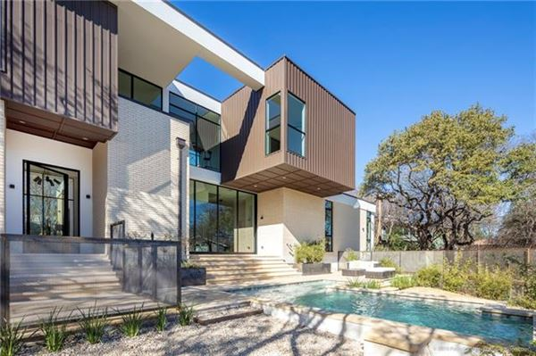 Inspired Modern Architecture With Leading Technology Texas Luxury