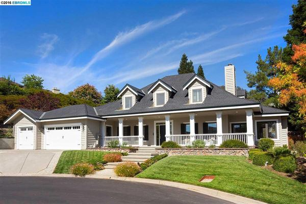 Beautiful cape cod style home in alamo california luxury for Cape cod luxury homes