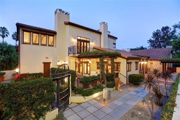 European Country Villa In Bel Air California Luxury
