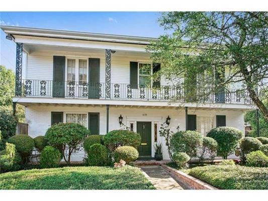 Garden District Colonial Home Louisiana Luxury Homes