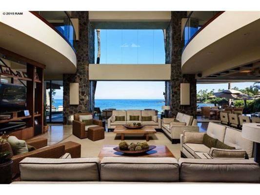 Dramatic oceanfront estate hawaii luxury homes for Hawaii luxury homes for sale