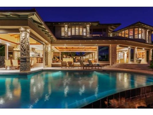 Contemporary luxury at kukio hawaii luxury homes for Luxury homes in hawaii for sale
