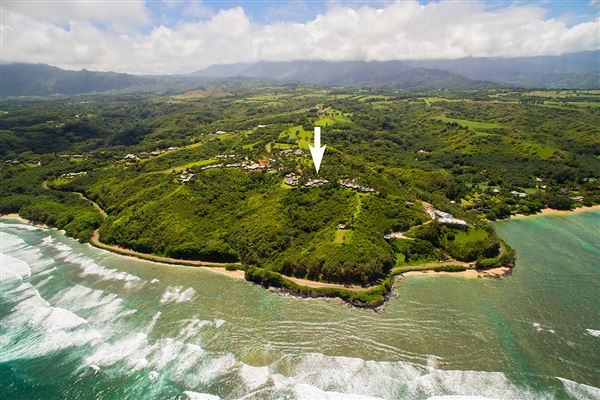 Kohola Point Home In Anini Hawaii Luxury Homes Mansions For Sale Luxury Portfolio
