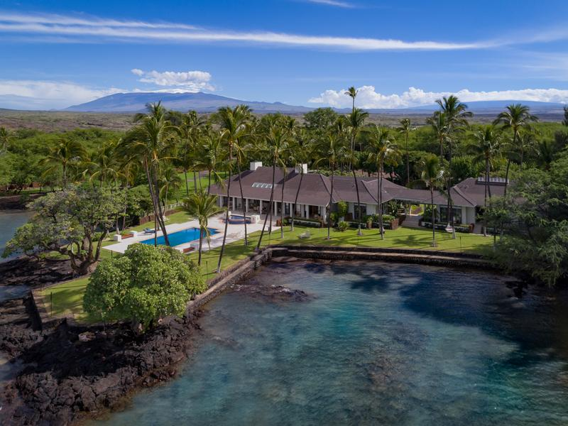 Incredible residential estate in holualoa hawaii luxury for Luxury homes in hawaii for sale