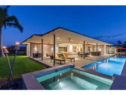 Contemporary architectural beauty in hawaii hawaii for Luxury homes in hawaii for sale