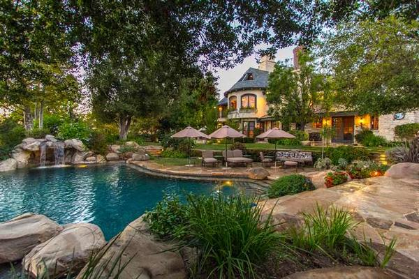 french countryside beauty in calabasas  california luxury homes, Luxury Homes