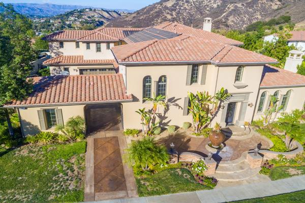 Gorgeous home at the oaks of calabasas california luxury for Houses for sale in calabasas