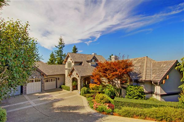 Lakemont view luxury estate washington luxury homes mansions for sale luxury portfolio - Nature integrated houses perfect harmony ...