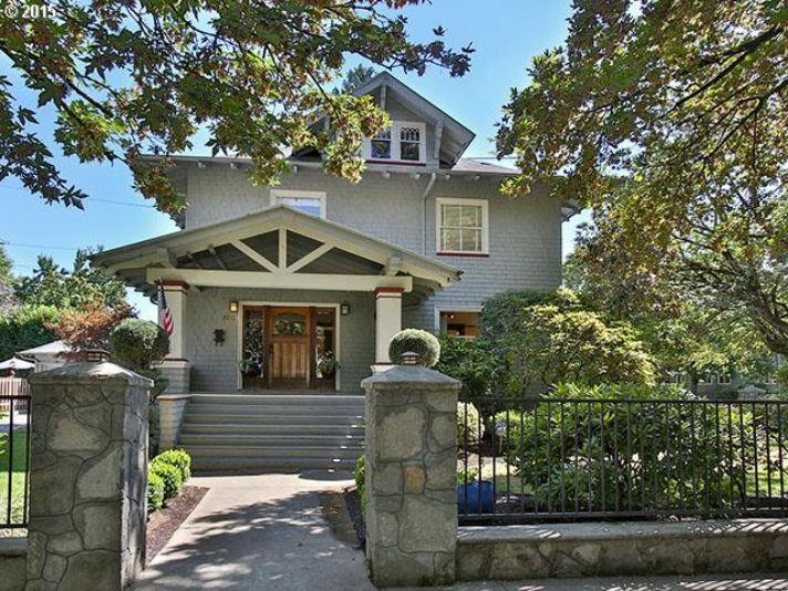 grand craftsman on a double lot oregon luxury homes