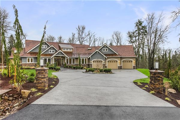 Spectacular new construction rambler washington luxury for Rambler homes for sale