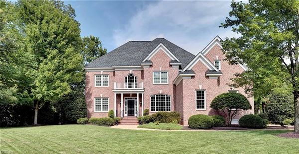 LAKEFRONT ALL BRICK HOME | Virginia Luxury Homes | Mansions For Sale |  Luxury Portfolio