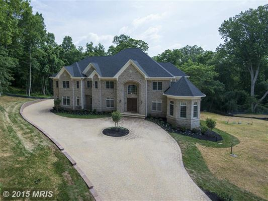 European Inspired Details Maryland Luxury Homes