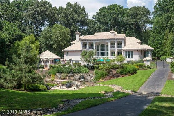 European Style Splendor Virginia Luxury Homes Mansions