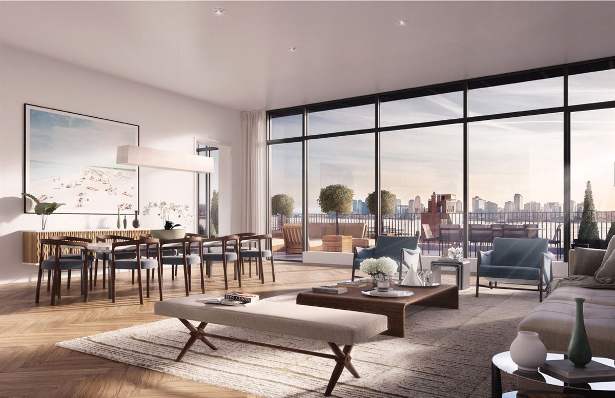 penthouse at The Shephard. US $24,500,000 in New York, NY ...