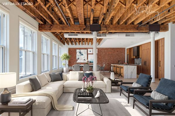 New york luxury homes and new york luxury real estate for Loft in manhattan for sale
