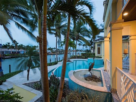 Charming BERMUDA STYLE HOME SITUATED ON JAMAICA CHANNEL   Florida Luxury Homes    Mansions For Sale   Luxury Portfolio