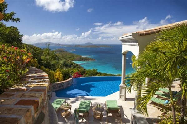virgin islands on the Property