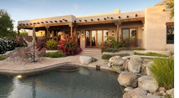 Pueblo revival architecture and luxury homes for Pueblo style home plans