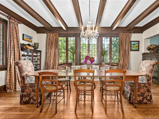 Meticulously restored and remodeled Lakeview Park Tudor luxury real estate